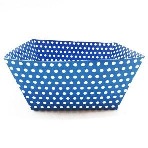 Bowl Azul Fiesta Polka Dots X 1 u