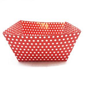 Bowl Rojo Fiesta Polka Dots x 1u
