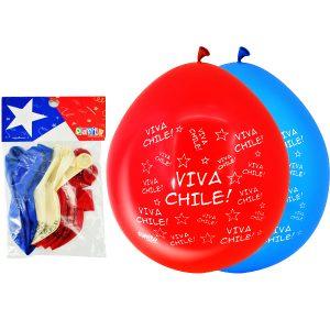 Globos Impresos Viva Chile