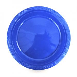 Set 10 Platos Pl sticos 18cm Azul