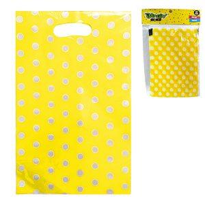 Bolsas para Dulces Amarilla Polka Dots
