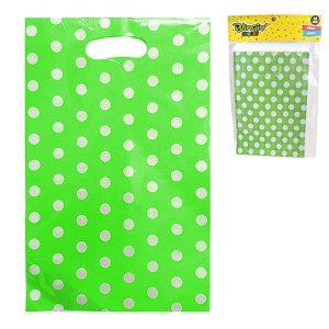 Bolsas para Dulces Verde Lima Polka Dots