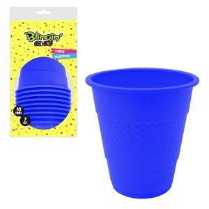 Vasos Pl sticos Azules x 10 u