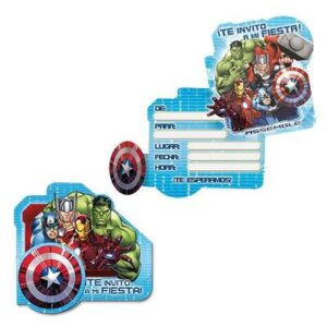 Tarjetas de Invitaci n Avengers