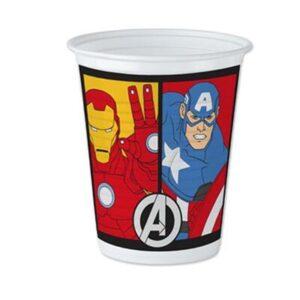 Vasos Pl sticos Avengers