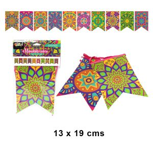Banner Mandala Colores