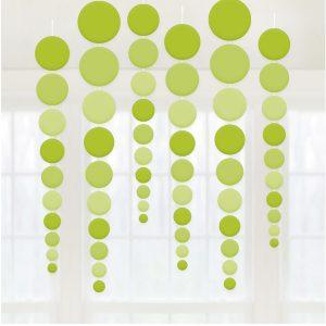 Guirnaldas Circle Verde x 2 u