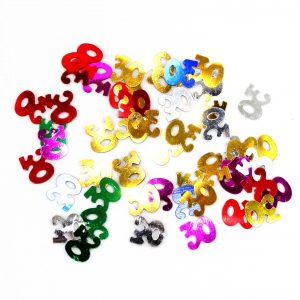 Confetti 30 A os Multicolor
