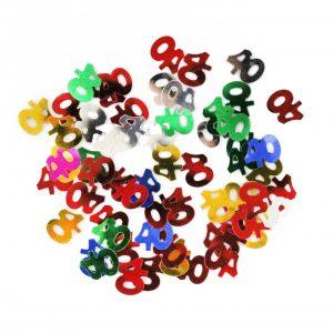 Confetti 40 A os Multicolor