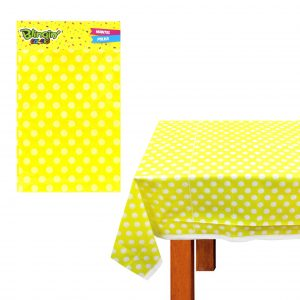 Mantel Fiesta Amarillo Polka