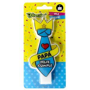 Vela Feliz Cumplea os Pap