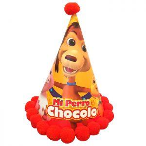 Gorro Festejado Perro Chocolo