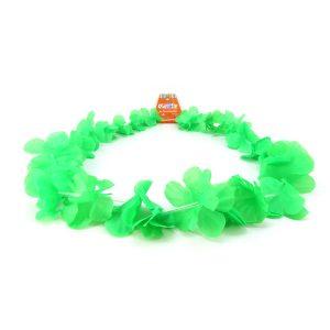Collar Hawaiano Verde Fl or