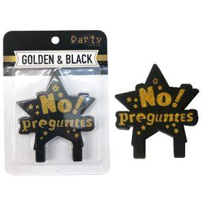 Vela No Preguntes Gold and Black