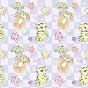 Papel De Regalo Animalitos Baby