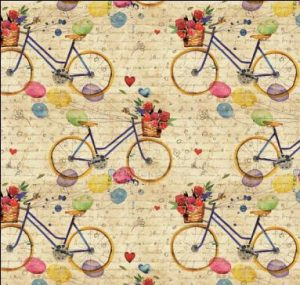 Papel de Regalo Bicicleta Vintage