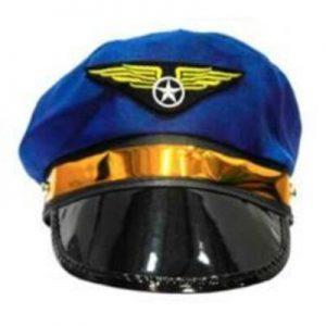 Gorro Aviador Azul