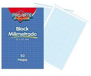 Block Papel Milimetrado