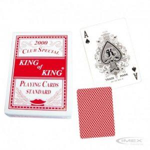 Mazo Cartas Inglesas Rojo