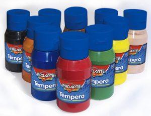 T mpera Frasco Colores 250 ML