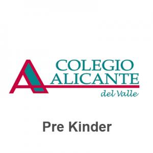 Lista tiles Escolares Colegio Alicante del Valle 8211 Pre Kinder