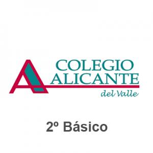 Lista tiles Escolares Colegio Alicante del Valle 8211 Segundo B sico