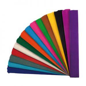 Papel Crep Colores Surtidos x 1 Pliego
