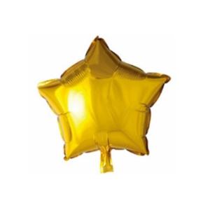 Globo Foil Estrella Dorada