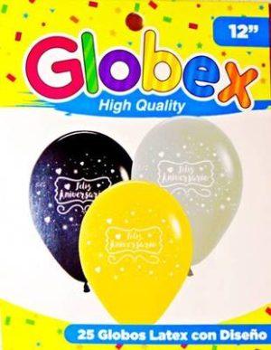 Globo 8220 Feliz Aniversario 8221 Golden