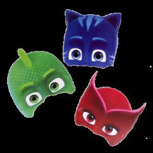 M scaras Invitados PJ Mask