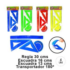 Set Geom trico Flexible