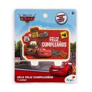 Vela Placa Cars