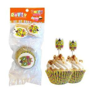 C psulas Cupcake Buho