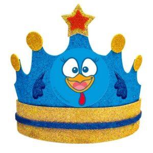 Corona Festejada o Gallina Pintadita