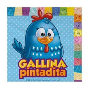 Servilletas Gallina Pintadita