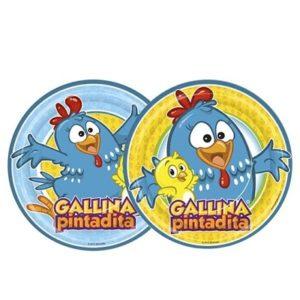 Platos Gallina Pintadita
