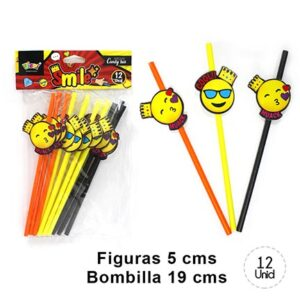 Bombillas Smile x 12 U