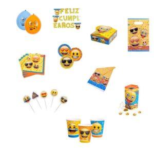 Pack Cotill n Emoji 6 Pers