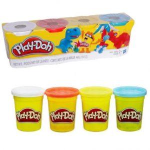 Set de 4 Masas Play Doh