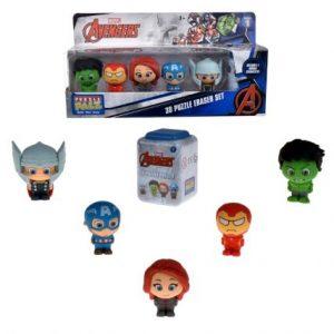 Figuritas de Goma Avengers