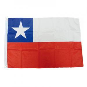 Bandera Chilena 90 x 60 cm x 1 u