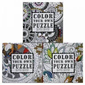 Puzzle para Colorear 300 Piezas x 1 u