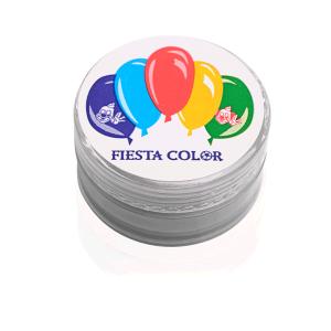 Pinta Carita Fiesta Color Plata