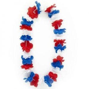 Collar Hawai Tricolor x 1 u