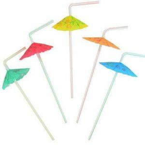 Bombillas Paraguas 10 Unid