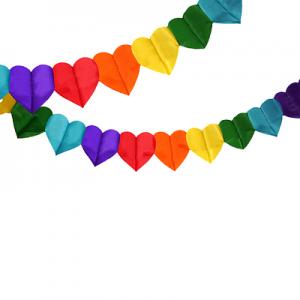 Guirnalda Coraz n Multicolor x 1 u