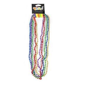 Collar Perlado Mix X6 Unid