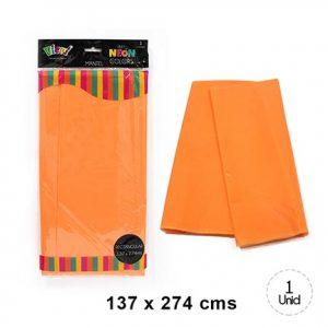 Mantel Neon Naranjo