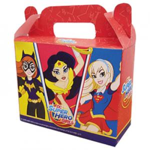 Caja para dulces Super Hero Girls x 6u