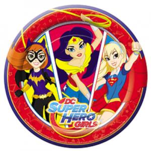 Platos Super Hero Girls x 6 u